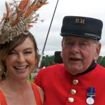 With one of the lovely Chelsea Pensioners